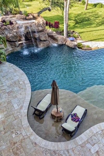 Backyard Ponds With Waterfalls