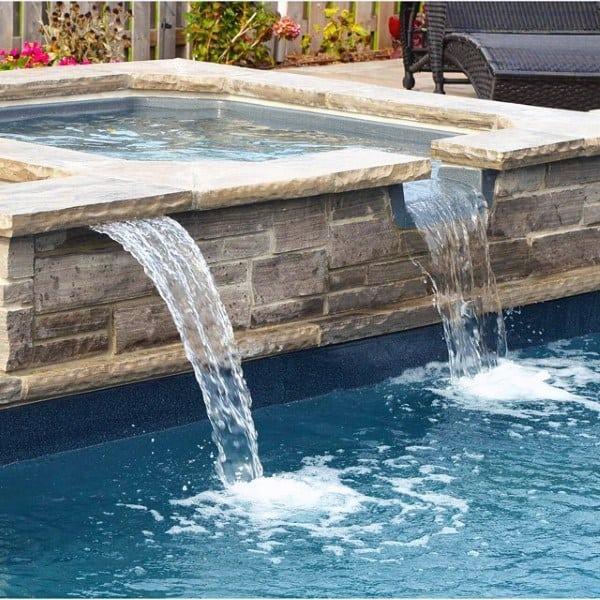 Backyard Pools With Waterfalls