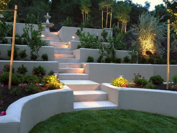Backyard Retaining Walls Landscaping Ideas