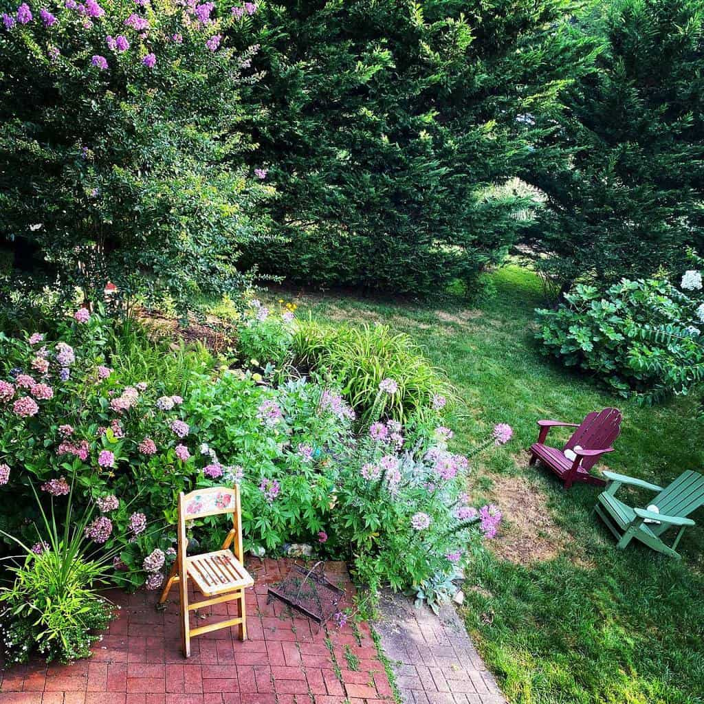 backyard shade garden ideas capevintagecottage