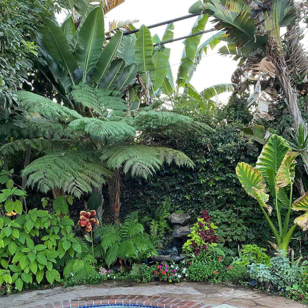 backyard shade garden ideas xrichx04