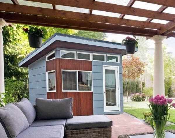 Backyard Shed Contemporary Ideas