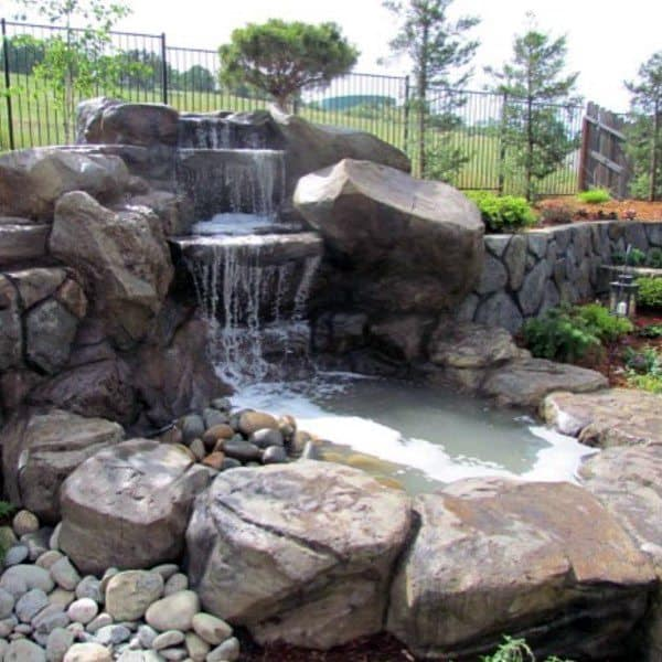 Top Best Backyard Waterfalls Water Feature Design Ideas - Backyard waterfalls ideas