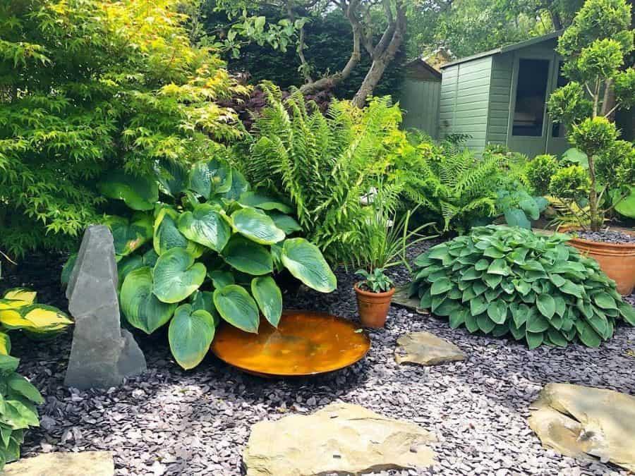 backyard zen garden butterfliesinthegreenhouse