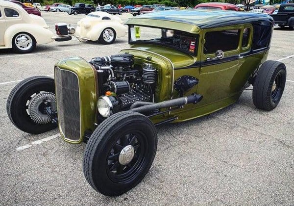 Badass Custom Rat Rod