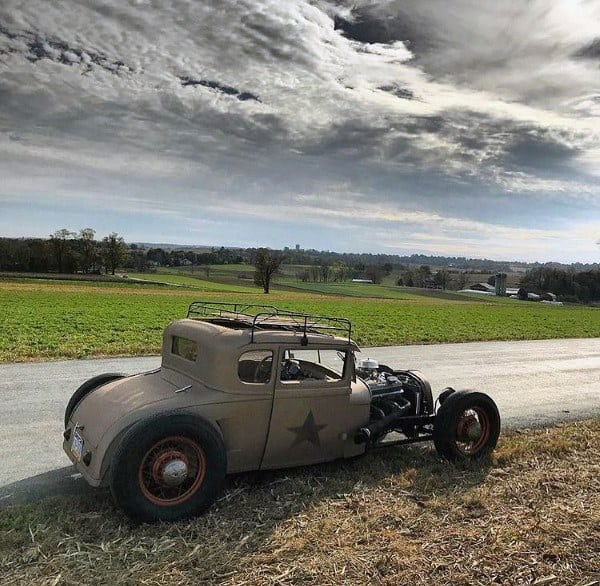 Badass Custom Rat Rods