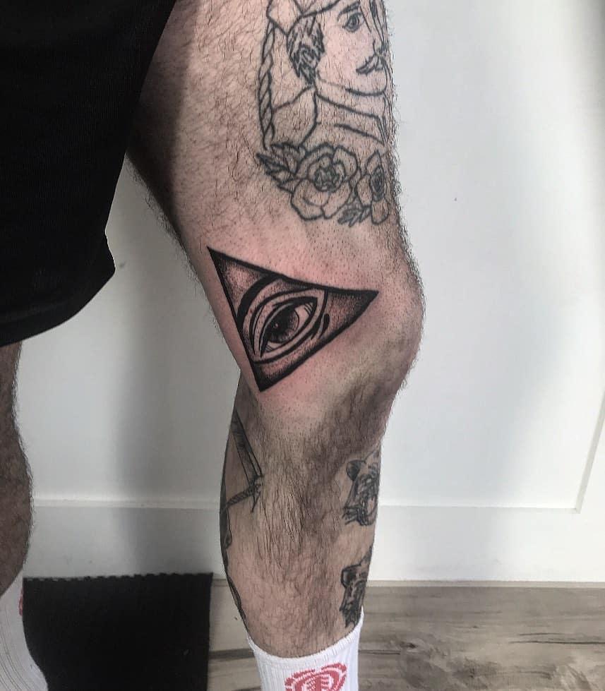 Badass Cyclops Third Eye Tattoo