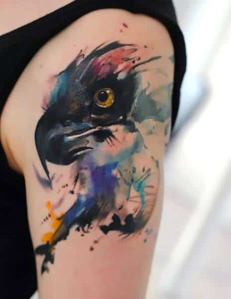 Badass Eagle Tattoo Designs For Gentlemen
