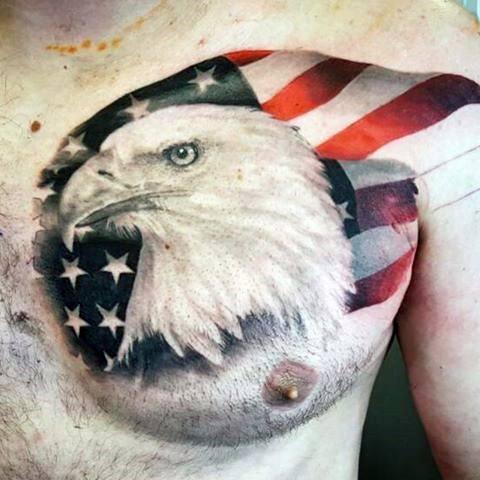 Badass Eagle Tattoo Designs For Men