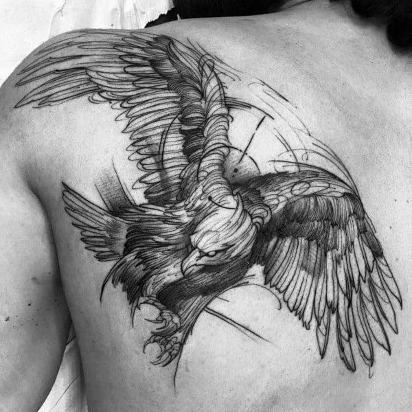 Badass Eagle Tattoo Ideas For Men