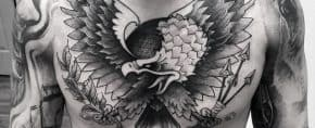 60 Badass Eagle Tattoos For Men – Bird Design Ideas