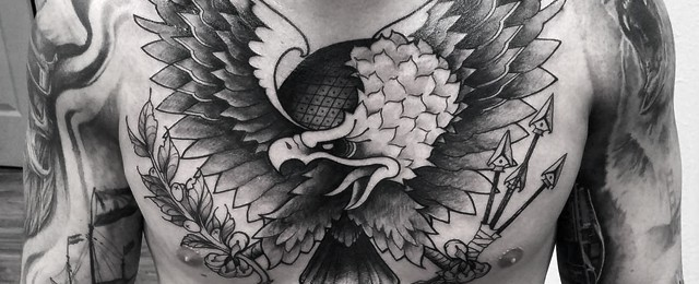 60 Badass Eagle Tattoos For Men – Bird Design Ideas
