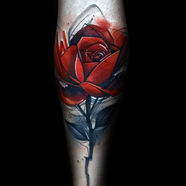 Badass Rose Themed Tattoo Ideas