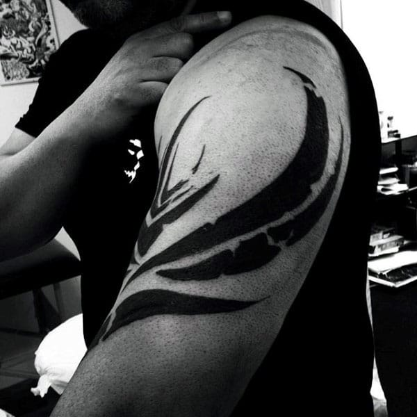 Badass Tribal Tattoos Designs Arm For Gentlemen