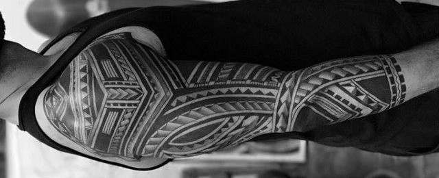 Badass Tribal Tattoos For Men