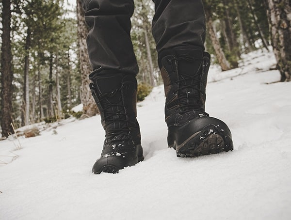 Baffin Summit Boots For Men Review In Snow Covered Woods Winter