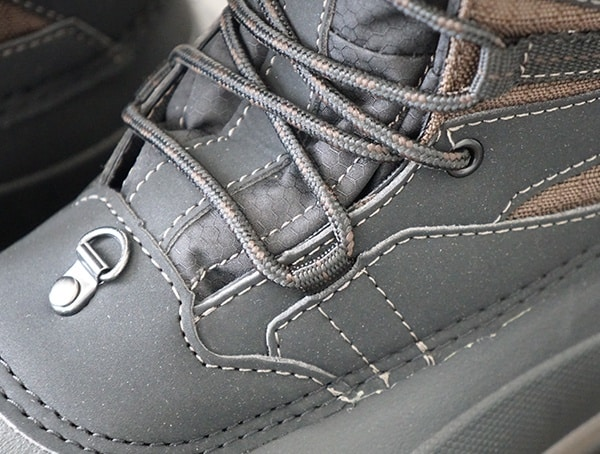 Baffin Summit Mens Winter Boots Laces And Front Ring