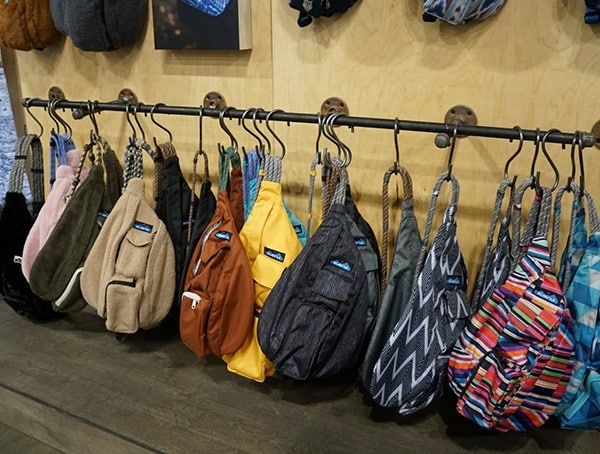 Bag Display Outdoor Retailer Winter Market 2018