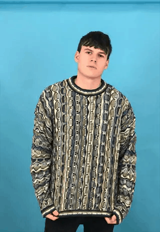 Vintage 80's Coogi style Cosby Jumper