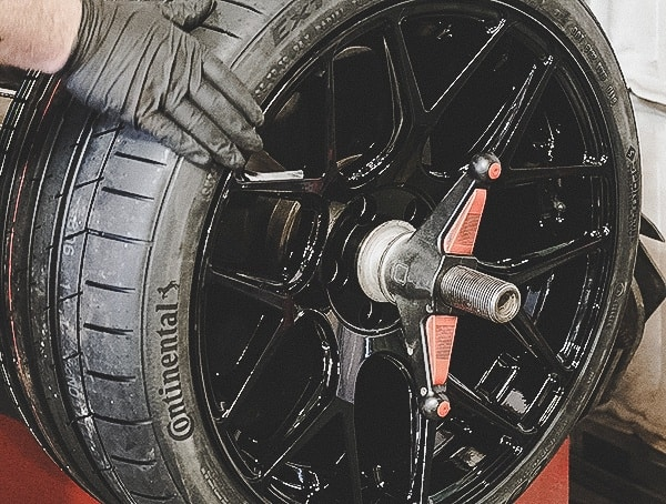 Balancing Continental Extremecontact Sport Tires