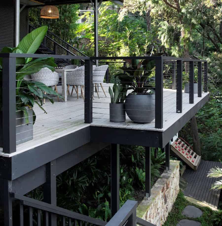 balcony or rooftop container garden ideas reflective_gardens