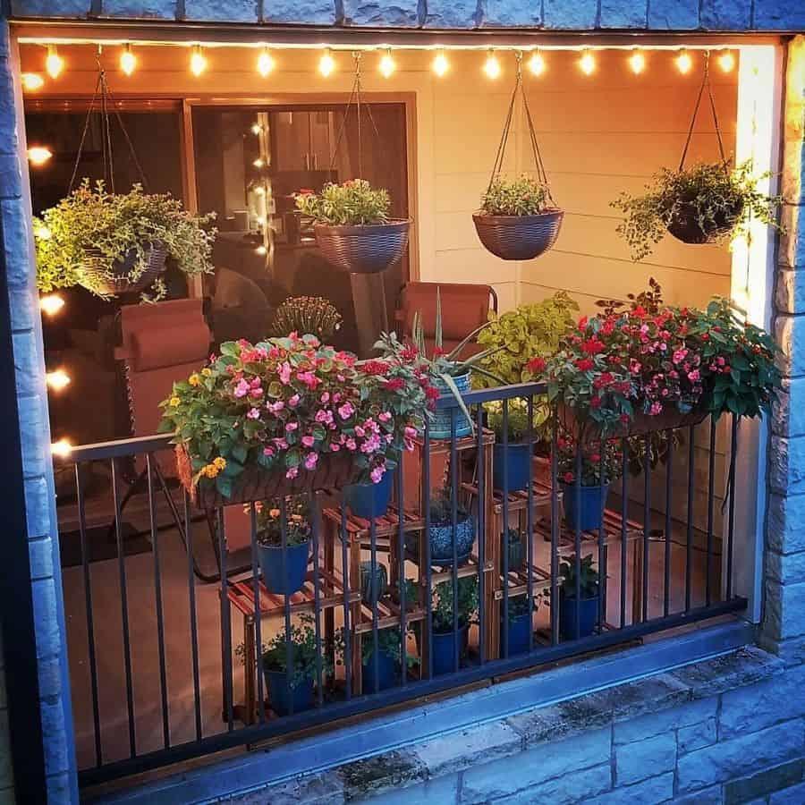 balcony or rooftop container garden ideas samanthoro