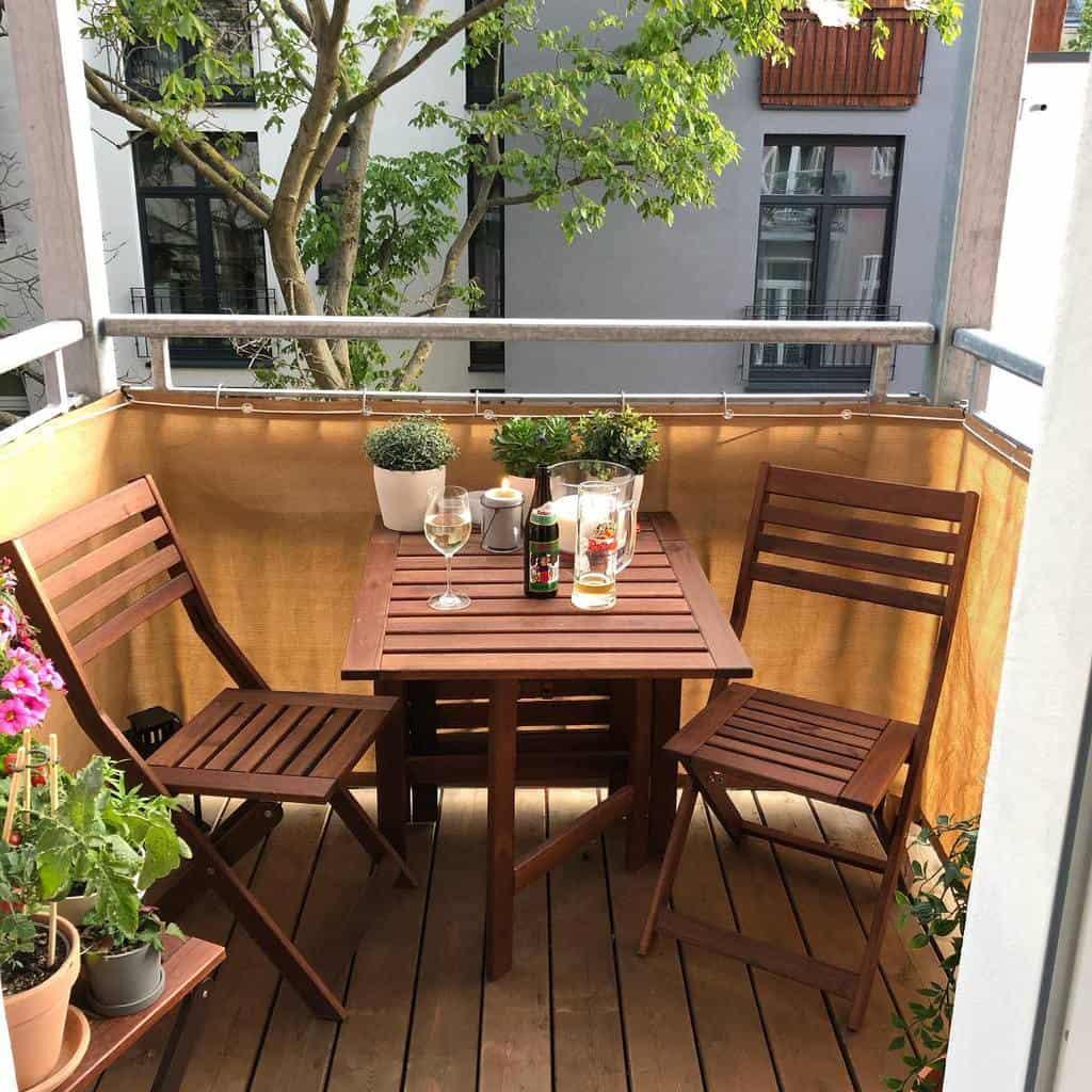 balcony patio privacy ideas theberlinhome