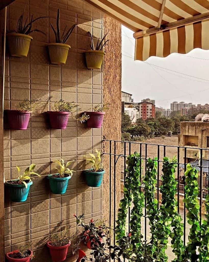 balcony vertical garden ideas dharahemani_designs