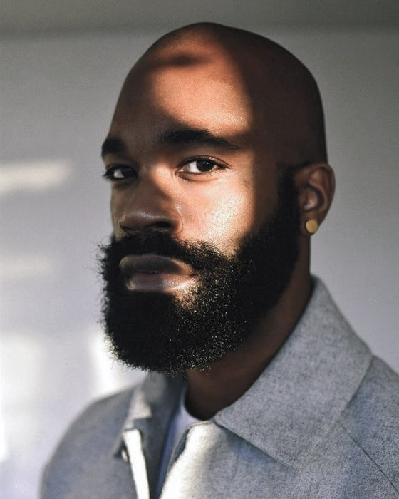 Beard Styles For Black Men Masculine Facial Hair Ideas - Facial hair styles bald guys