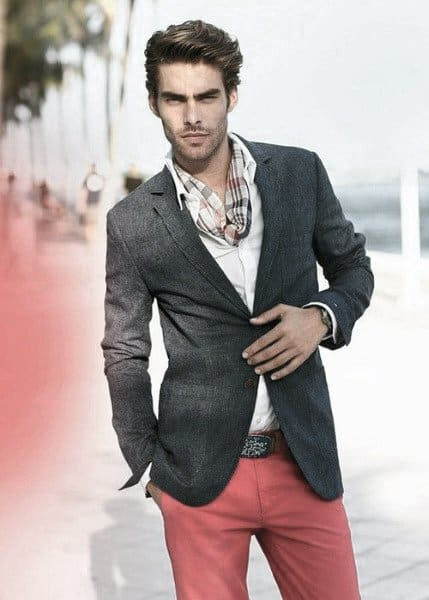 Blazer With Chinos Guys Fashion Ideas Summer Outfits Styles
