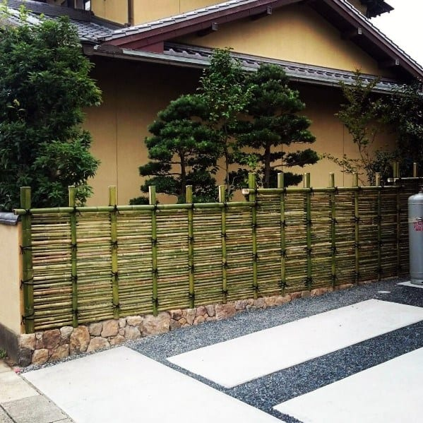 Bamboo Fence Ideas Inspiration