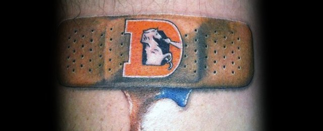Band Aid Tattoo Designs For Men