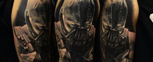 Bane Tattoo Designs For Men