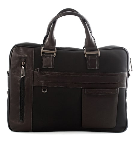 Banuce Waterproof Leather Breifcase Mens Laptop Bag