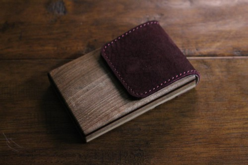 Bapup Handmade Wood Wallet For Men