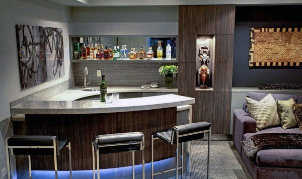 Bar Designs For Man Caves