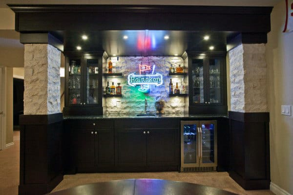 Bar Ideas Man Cave