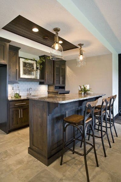Bar Pendants Basement Lighting Ideas