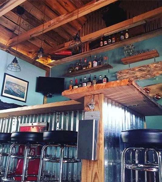 Great Bar Shed Design Ideas Retro Decor