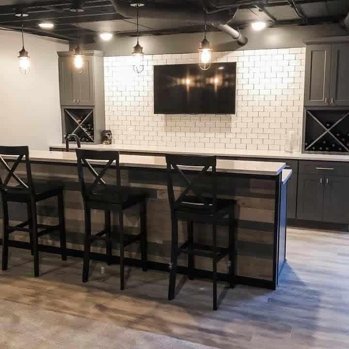 bar small basement ideas clarksbuildingllc