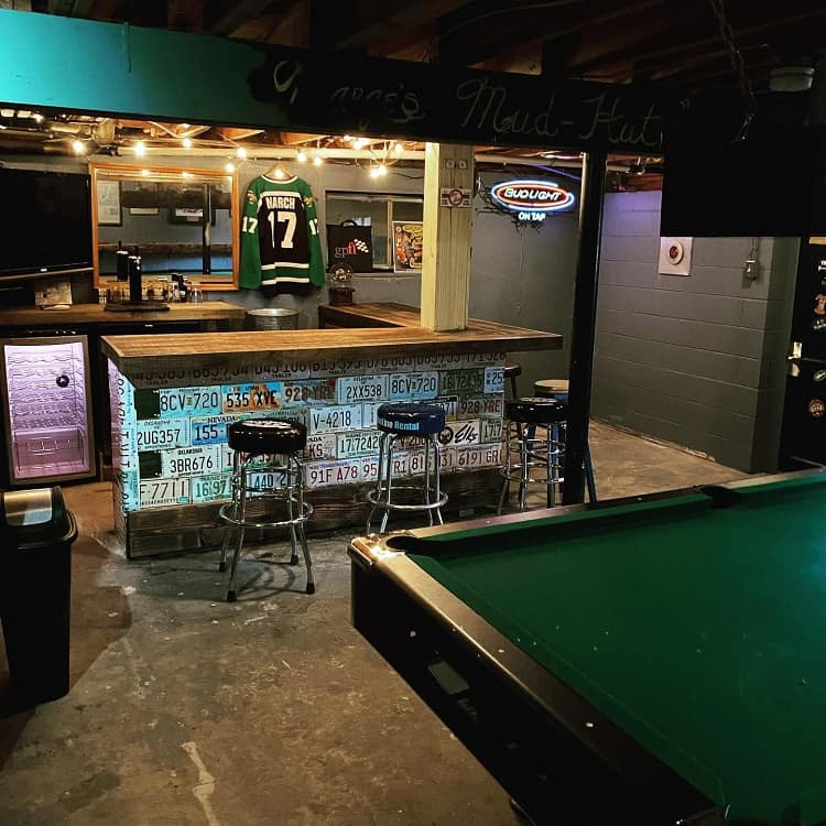 Bar Unfinished Basement Ideas