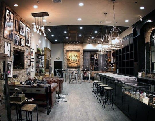 Bar With Lounge Guys Awesome Man Caves Inspiration