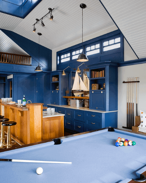 Bar With Pool Table Interior Designs Track Lighting