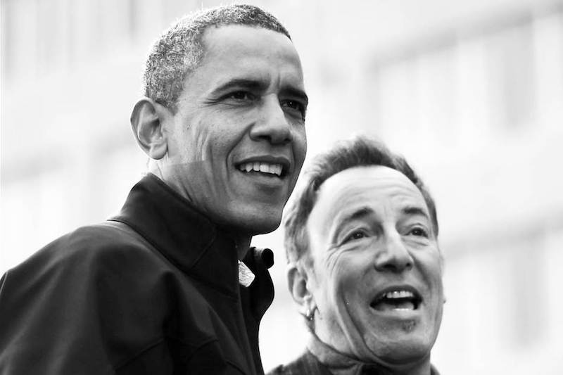 Barack Obama Chats With Bruce Springsteen on New Spotify Podcast