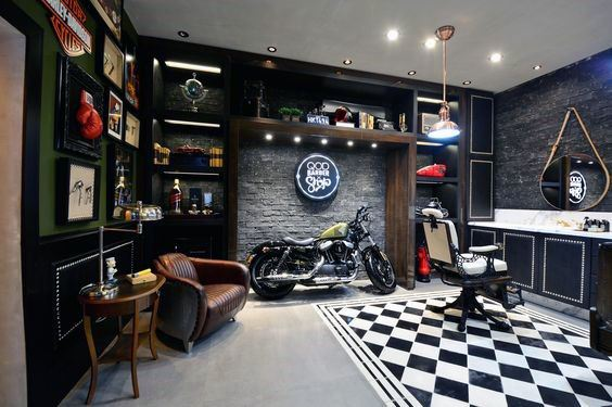 Barber Shop Interior Design