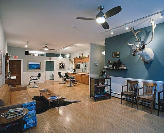 Barber Shop Simple Interior Designs