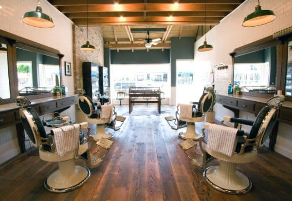 Barber Shop Traditional Design