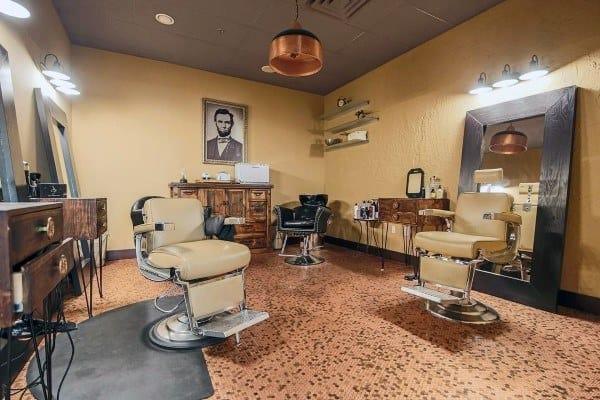 Barbershop With Penny Floor