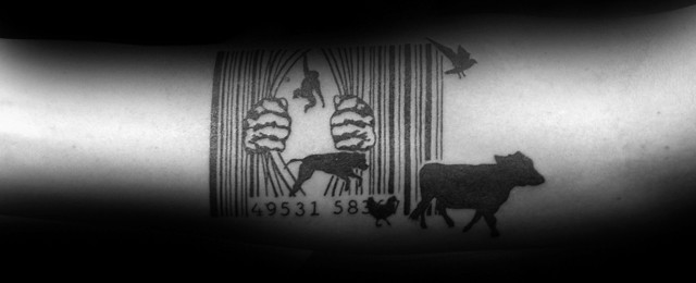 Barcode Tattoo Designs For Men