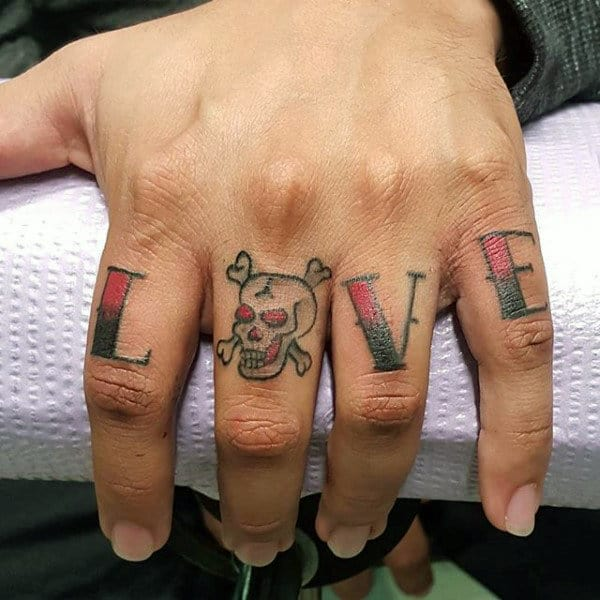 Bare Knuckles Tattoo For Men